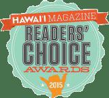 Hawaii Magazine Reader's Choice Award