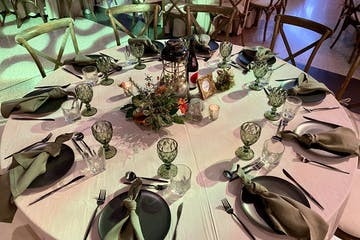 christmas function table decorations