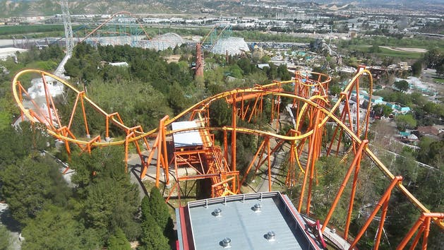 About The Six Flags Tour From Anaheim