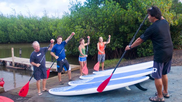 Kauai Stand Up Paddleboard (SUP) Tours with Outfitters Kauai