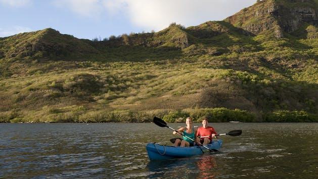 Kauai Kayak Tour To Hidden Valley Falls With Outfitters Kauai