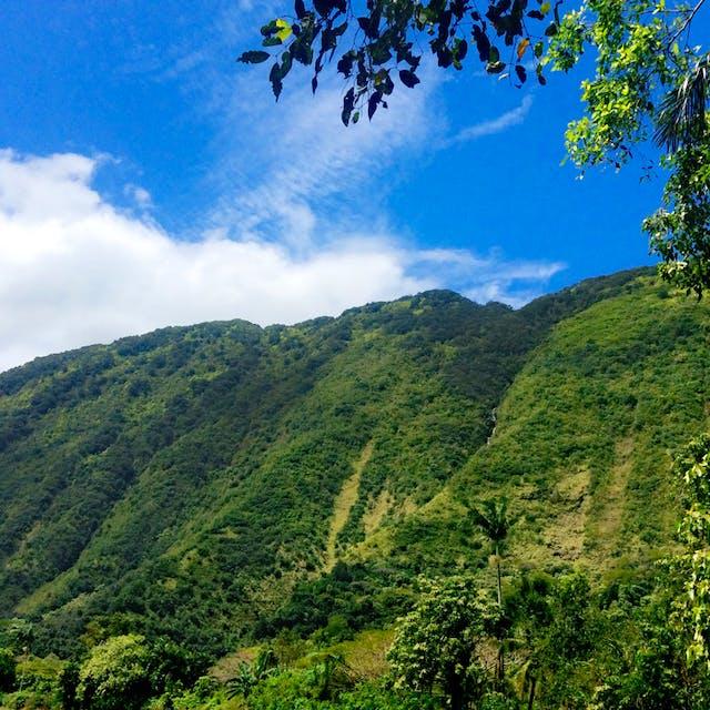 The beautiful Waipi'o Valley