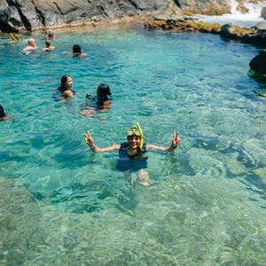 Swimming in the Natural Pool