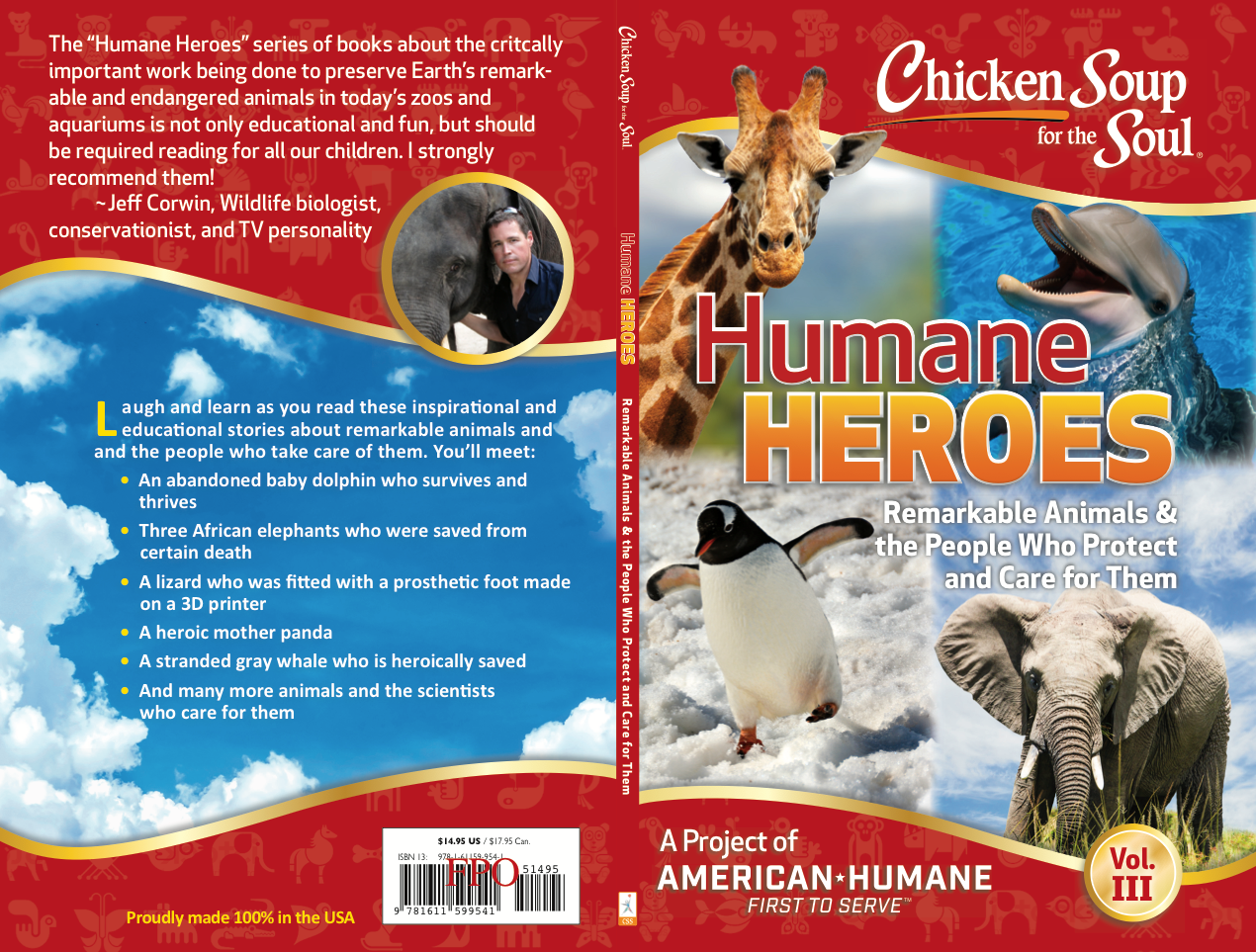 Chicken soup for the soul humane heroes vol 3