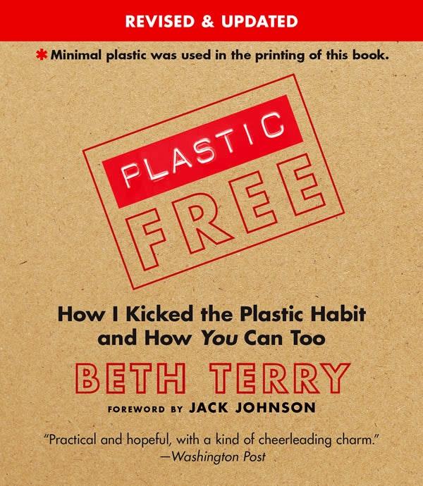 plastic free book cover