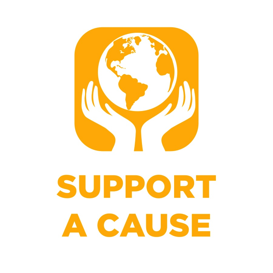 support a cause icon