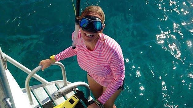 Learn to swim flotation vest