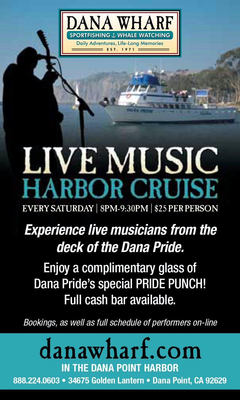 Live Music Harbor Cruise