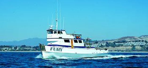 Fury charter boat