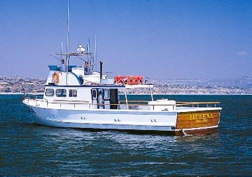 Helena charter boat