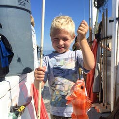 Kids Free Fishing Clinic - Sundays at Noon | Dana Wharf
