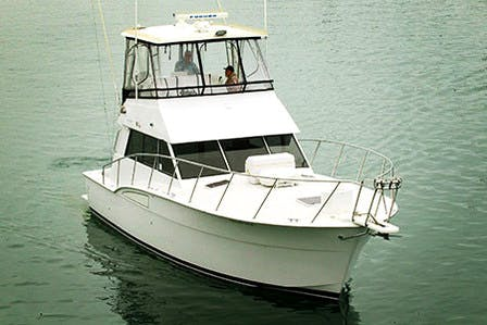 Rampage charter boat for burials at sea