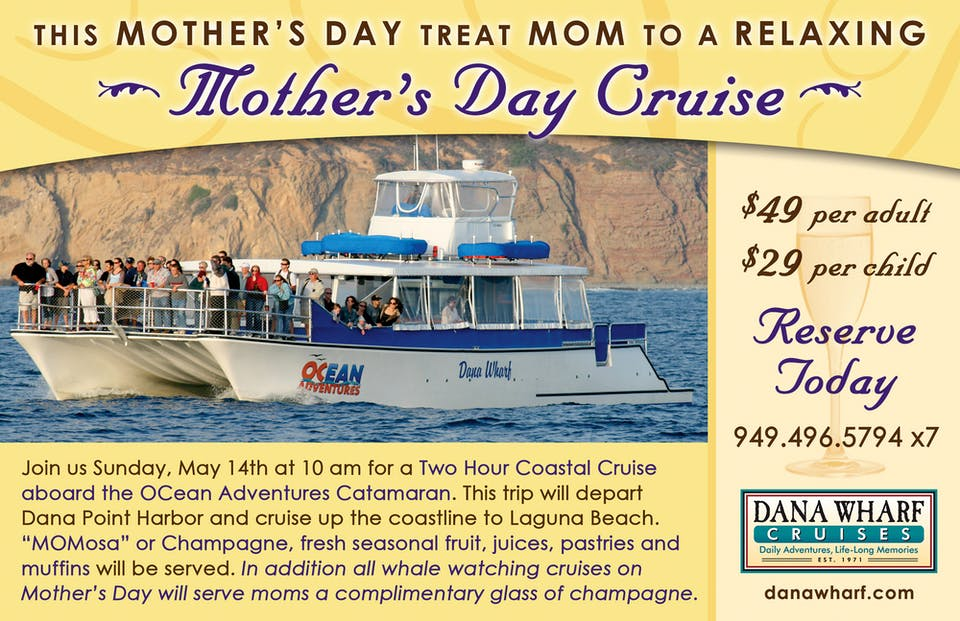 Mother's Day Cruise flyer