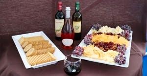 OC Wine Cruise cheese
