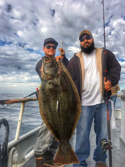 2016 Halibut Derby Winners