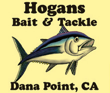halibut sponsor hogans bait logo