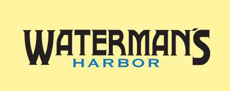 halibut sponsor watermans logo