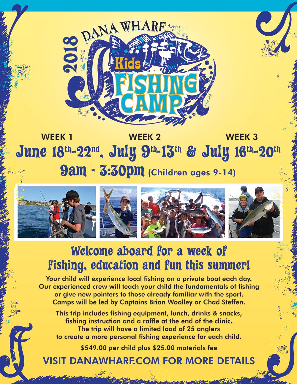 Kids Fishing Camp