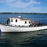 quoddy dam fishing boat in bar harbor