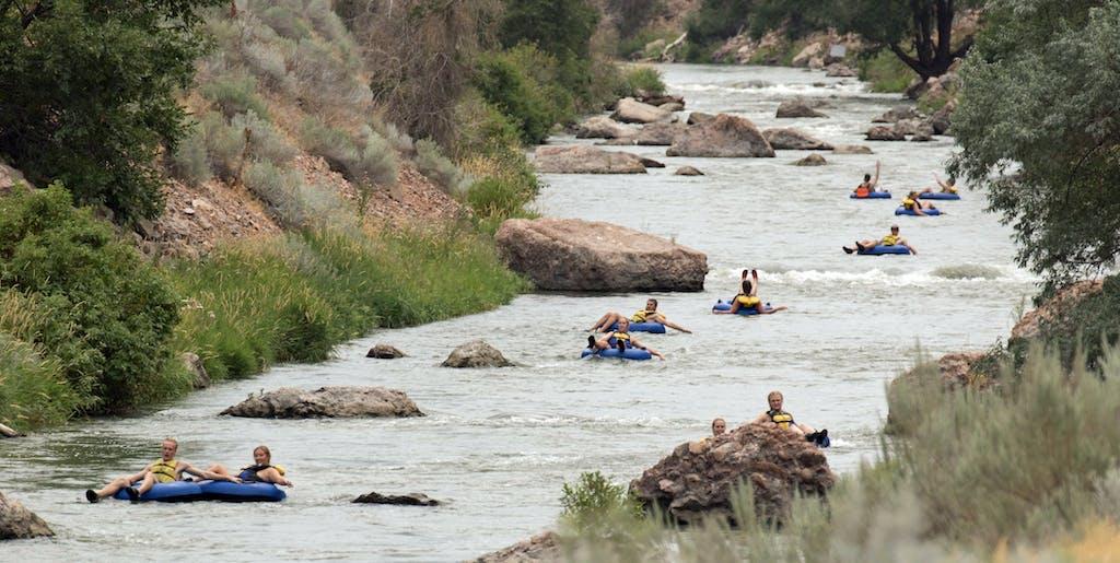 Weber River Tubing