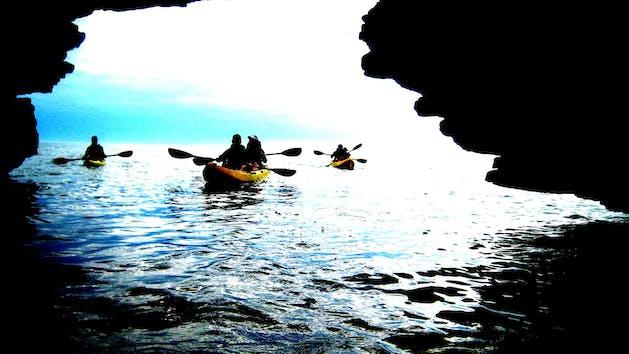 Cave Point County Park Kayak Tour