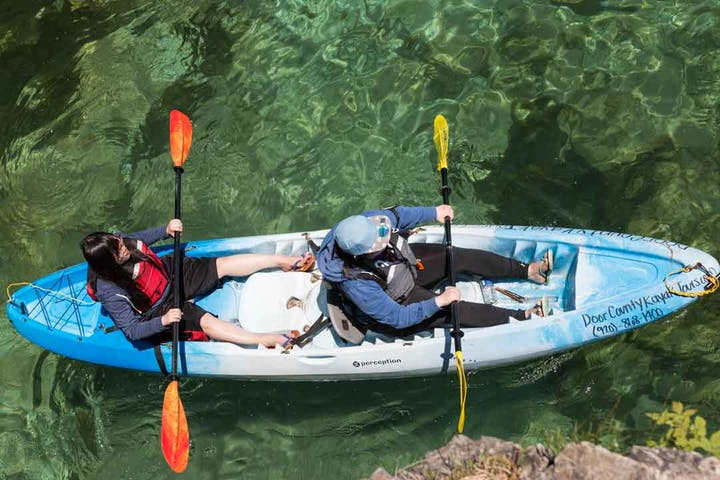 | Cave Point Paddle & Peddle