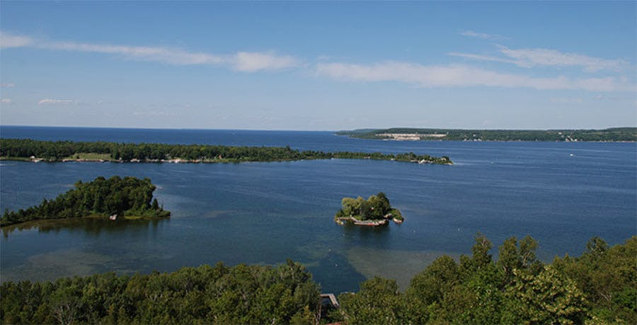potawatomi state park overlook
