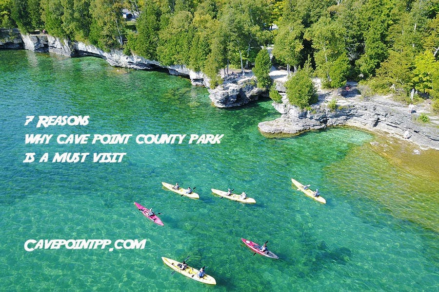 Cave Point County Park Kayaking Tours