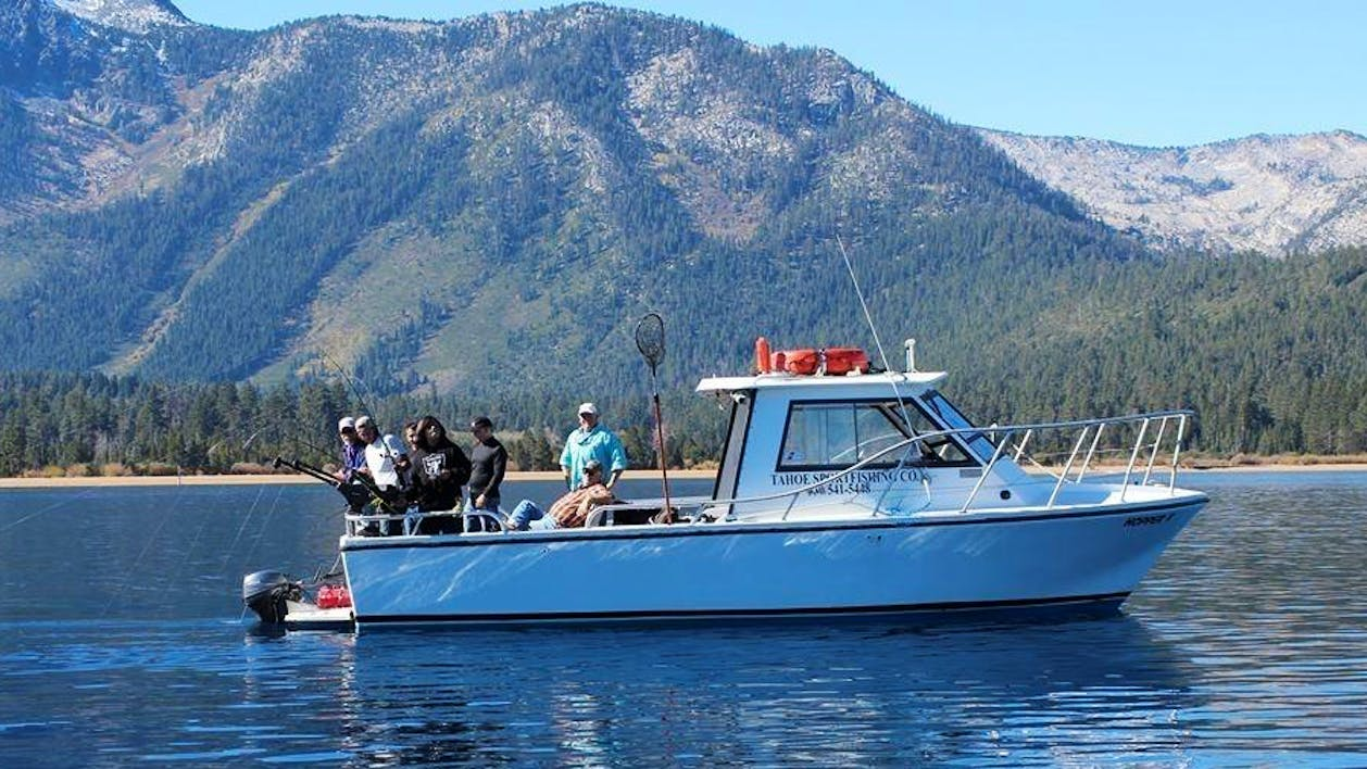 Morning 5 hour private fishing charter nv tahoe for California 1 day fishing license