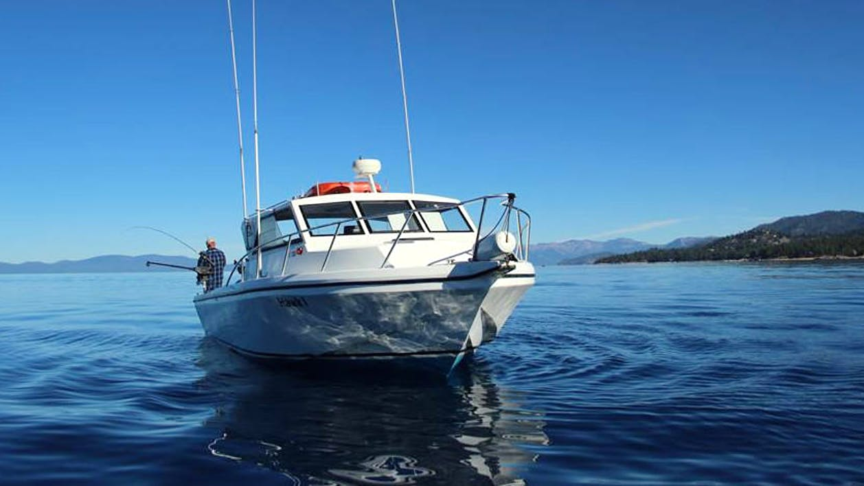 afternoon 4 hour private fishing charter nv tahoe