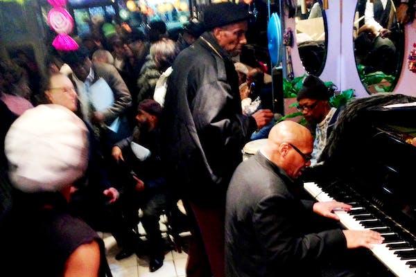 Jazz Scene in Harlem