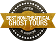 best non-theatrical ghost tours logo