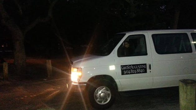 Ghost Augustine tour bus