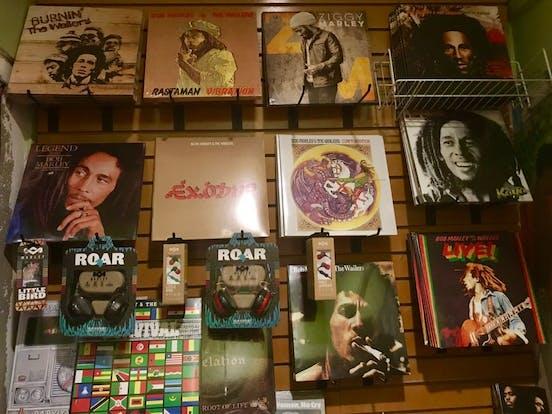 Bob Marley vinyls