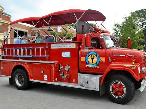 Portland Fire Engine Co. Truck