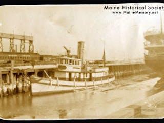 Maine Historical Society Portland Fire Boat