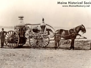 Miane Historical Society Fire Engine Pumper
