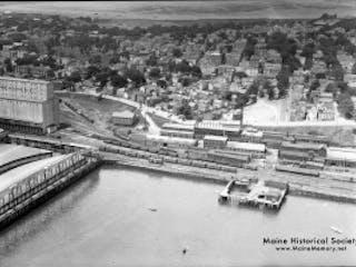 Maine Historical Society Portland Railroad