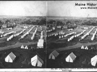 Maine Historical Society Portland Fire 1866 Tents
