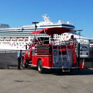 Portland Fire Engine Co. and a Cruise Ship.