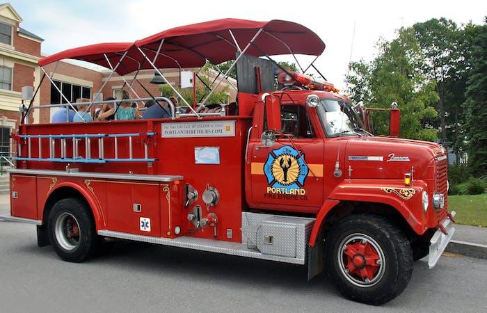 Fire Engine Tour Portland Fire Engine Co