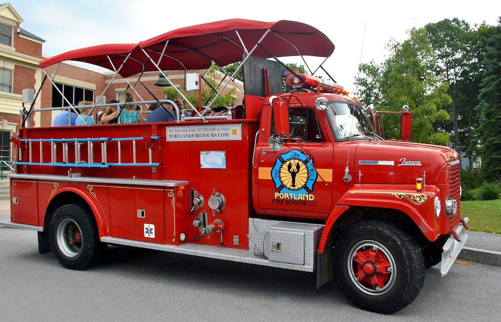 Portland Fire Department Tours