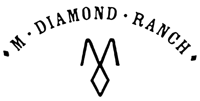 m diamond ranch logo
