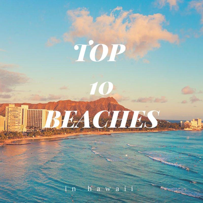 top 10 hawaiian beaches north shore shark adventures
