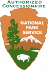national park service authorized concessionaire logo