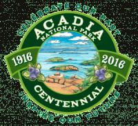 acadia national park centennial logo