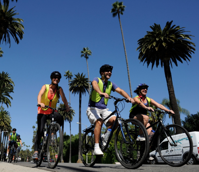 LA in a day, cycling LA, LA tours, Hollywood tours