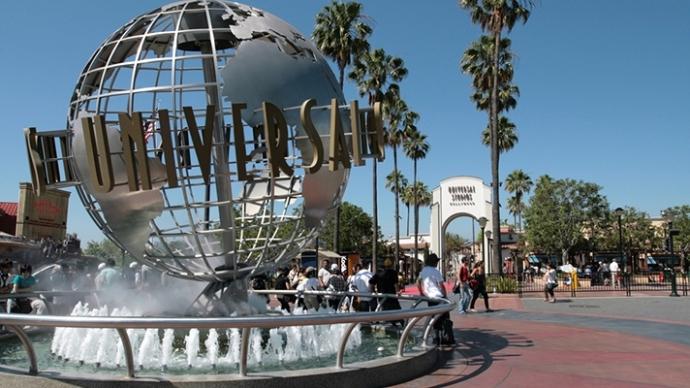 Universal Studios Hollywood Bike Tour
