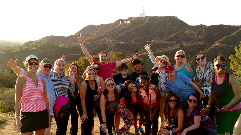 Private Group Tour Hollywood Hills Hike