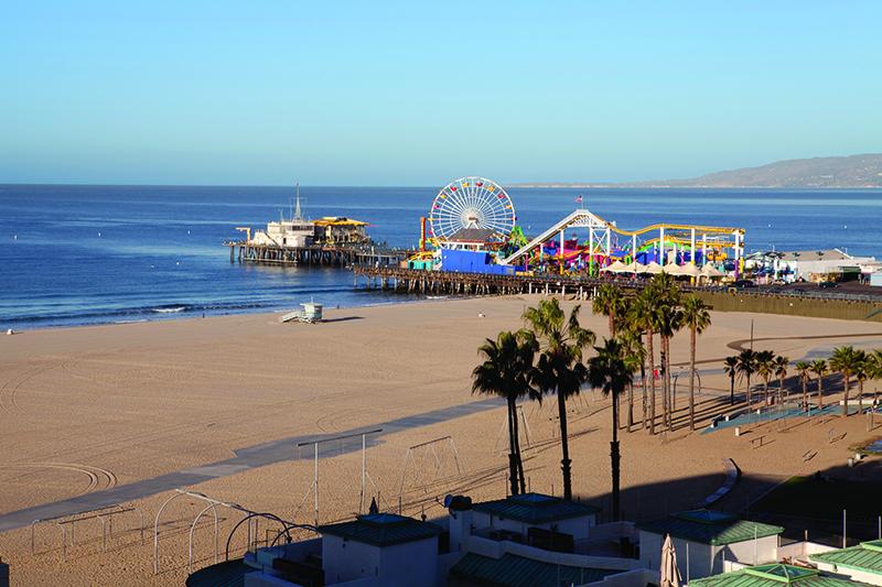 Santa Monica Walking Tour
